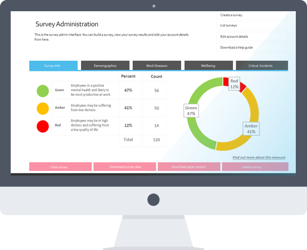 Creative, Modern, Colourful survey reports